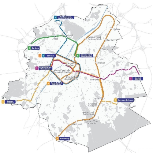 Le Réseau Express Bruxellois (REB), une vraie solution pour la mobilité à Bruxelles