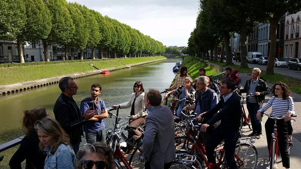 Mise au vert des Ecolos bruxellois à Gand!