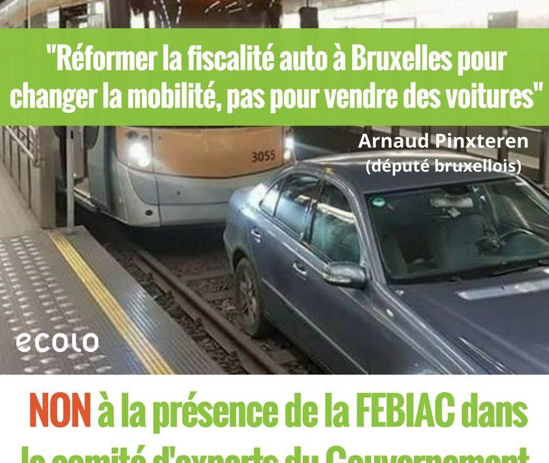 Réforme de la fiscalité automobile à Bruxelles:  Ecolo dénonce la présence de la FEBIAC