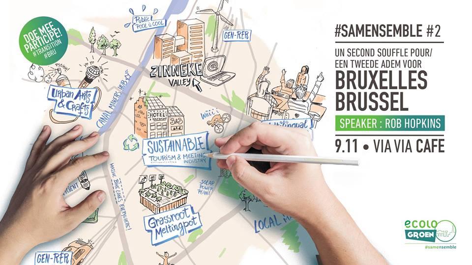 Un second souffle Pour Bruxelles (Vers une ville en transition) avec Rob Hopkins
