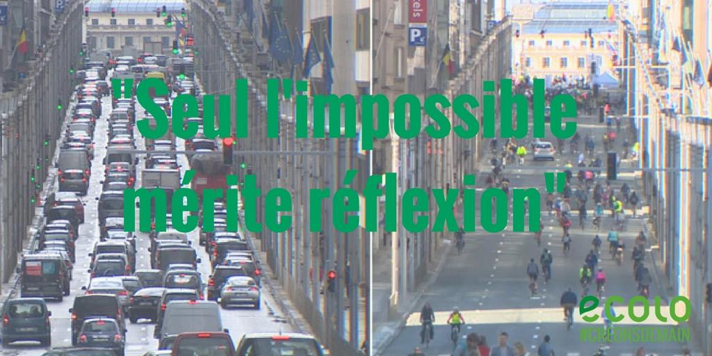 Edito du 25/01/2018 – «Seul l'impossible mérite réflexion»