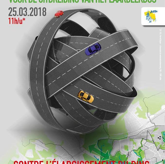 Elargissement du Ring : Ecolo et Groen demandent au gouvernement bruxellois de se battre pour la santé des habitants.