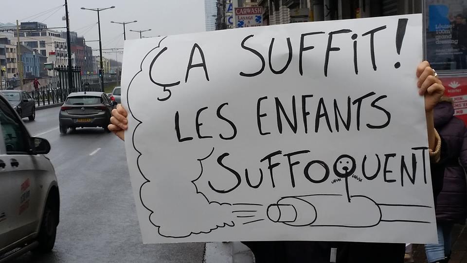 Edito du 16/03/2018 – Bruxelles manque d'air, nos enfants suffoquent