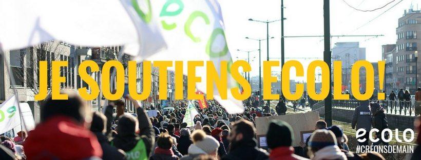 Je soutiens Ecolo!