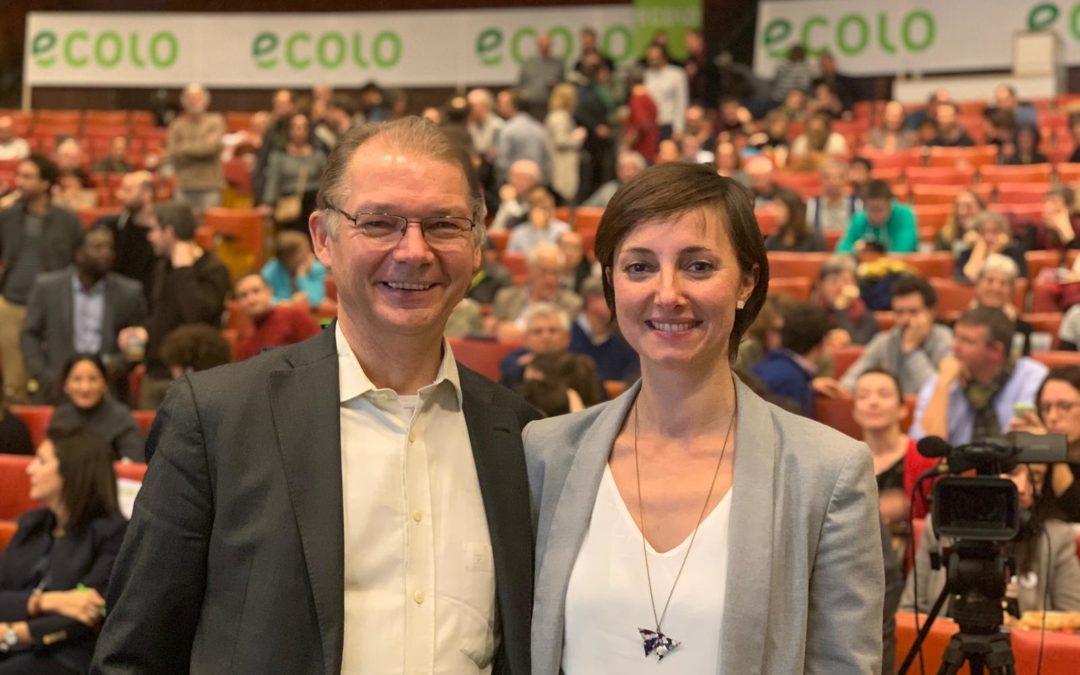 Philippe Lamberts et Saskia Bricmont emmèneront la liste Europe d'ECOLO