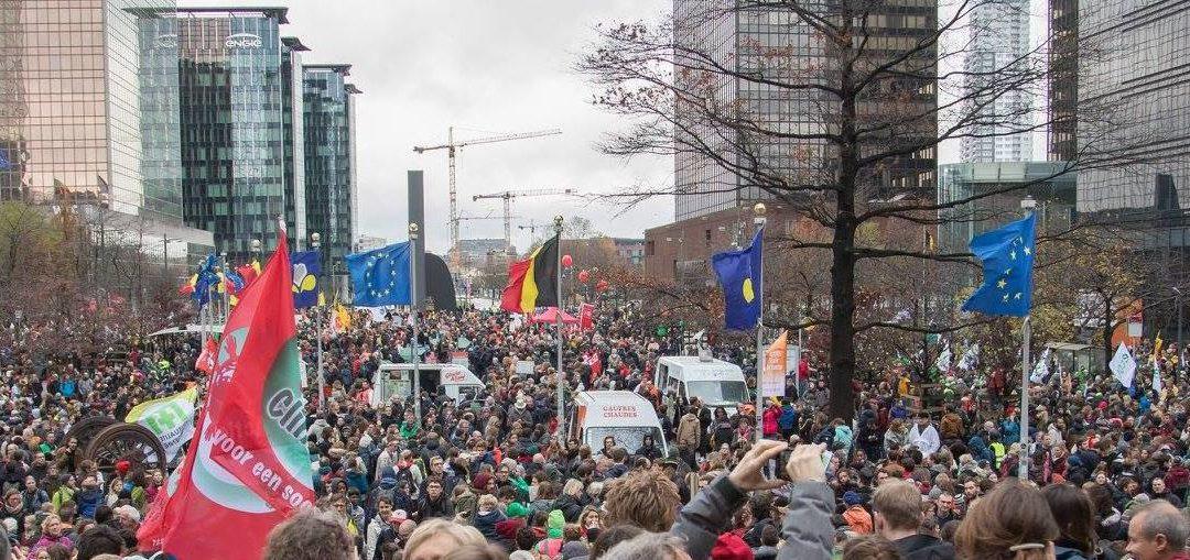 Manifestations climat: Ecolo-Groen demande des Green tickets au tarifpréférentiel